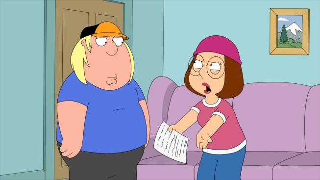 Chris E Meg In Una Scena Dell Ottavo Episodio Della Stagione 9 De I Griffin 211109