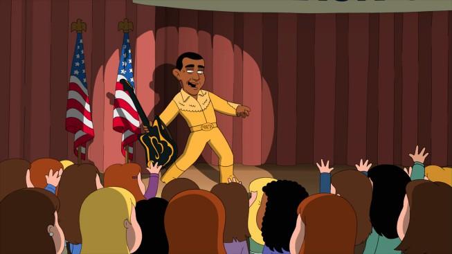 Il Presidente Obama Nell Episodio Della Stagione 9 De I Griffin New Kidney In Town 211112