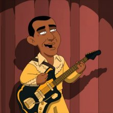 Il presidente Obama nell'ottavo episodio della stagione 9 de I Griffin