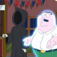 Peter e la Morte in una scena dell'episodio Friends of Peter G. de I Griffin