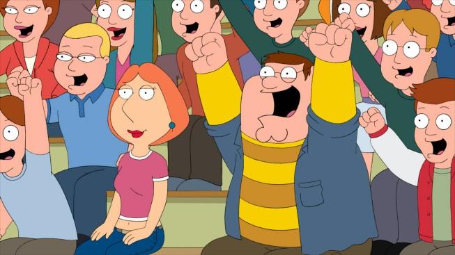 Peter E Lois In Una Scena Dell Episodio Trading Places Della Serie Tv I Griffin 211125