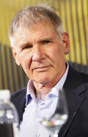 Un bel primo piano di Harrison Ford alla conferenza stampa di Cowboys & Aliens a Locarno