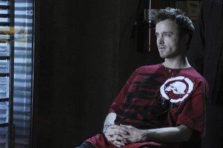 Aaron Paul nell'episodio Box Cutter di Breaking Bad