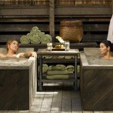 Angie Harmon e Sasha Alexander in una scena dell'episodio Living Proof di Rizzoli & Isles