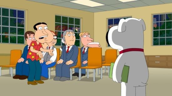 Brian Di Spalle Con Quagmire In Una Scena Dell Episodio Tiegs For Two De I Griffin 211408