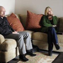 Bryan Cranston ed Anna Gunn nell'episodio Open House di Breaking Bad
