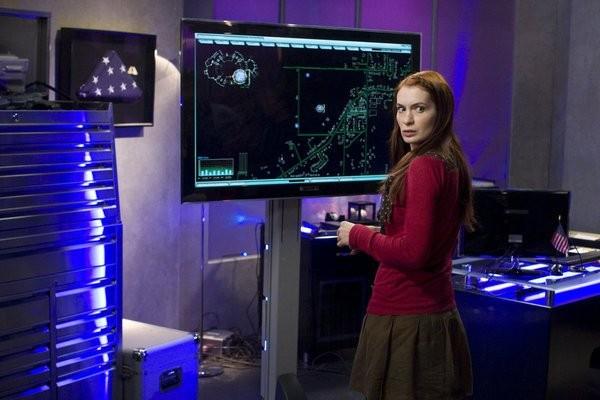 Felicia Day In Una Scena Dell Episodio Reprise Di Eureka 211339