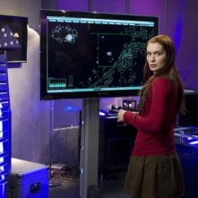 Felicia Day in una scena dell'episodio Reprise di Eureka