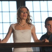 Jeri Ryan ed Eddie McClintock nell'episodio Queen for a Day di Warehouse 13