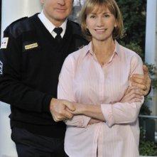 Kathy Baker e Treat Williams in una foto promozionale di Against the Wall