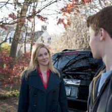 Laura Linney e Gabriel Basso in una scena dell'episodio Losing Patients di The Big C