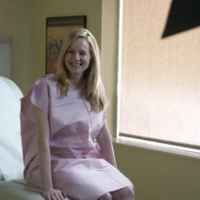 Laura Linney in un momento dell'episodio Musical Chairs di The Big C