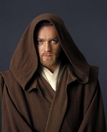 McGregor in una immagine promo per Star Wars