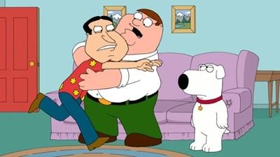 Quagmire Con Peter E Brian In Una Scena Di Tiegs Fot Two Della Serie Tv I Griffin 211407