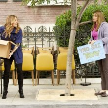 Sasha Alexander in una scena dell'episodio Living Proof di Rizzoli & Isles