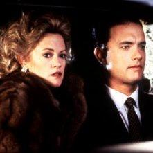 Tom Hanks e Melanie Griffith nel film Il falò delle vanità