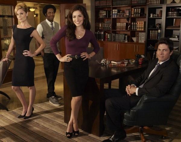 Una Foto Promozionale Del Cast Di Fairly Legal 211282
