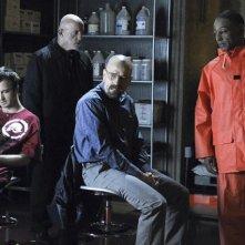 Una scena dell'episodio Box Cutter di Breaking Bad