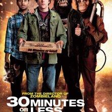 Nuovo poster internazionale per 30 Minutes or Less