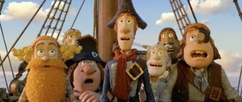 Una scena del film The Pirates! Band of Misfits
