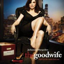 Uno dei poster della stagione 3 di The Good Wife
