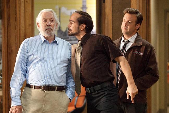 Colin Farrell Jason Sudeikis E Donald Sutherland In Horrible Bosses 211703