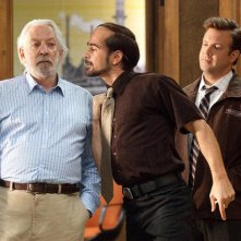 Colin Farrell, Jason Sudeikis e Donald Sutherland in Horrible Bosses