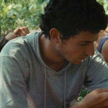 Giacomo Zulian e Stefania Comodin sulle rive del Tagliamento in L'estate di Giacomo