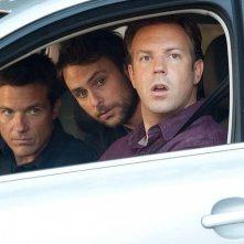 Jason Bateman, Charlie Day e Jason Sudeikis in Come ammazzare il capo... e vivere felici!