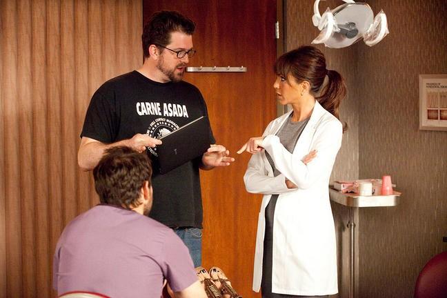 Jennifer Aniston E Seth Gordon Sul Set Di Come Ammazzare Il Capo E Vivere Felici 211707