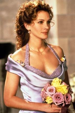Julia Roberts in una scena de Il matrimonio del mio migliore amico