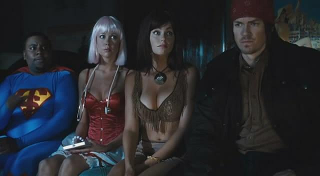 Kenan Thompson Steve Howey Desi Lydic E Diora Baird In Una Scena Di Horror Movie 211672