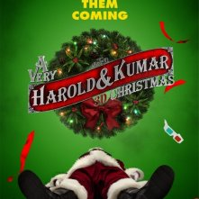 Teaser poster per A Very Harold & Kumar Christmas