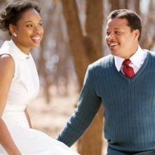 Jennifer Hudson e Terrence Howard ancora felici in Winnie