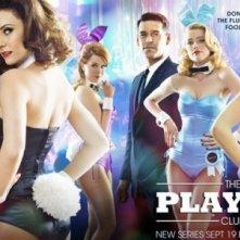 Poster con sviluppo orizzontale della serie The Playboy Club