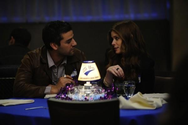 Romantico Tete A Tete Tra Kate Mara E Oscar Isaac In Ten Year 211864