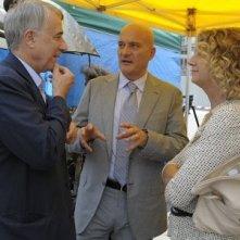 Sul set di Benvenuti al Nord, oltre a Claudio Bisio e Angela Finocchiaro, c'è anche il sindaco di Milano, Giuliano Pisapia