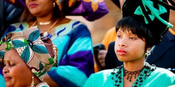 Un'intensa Jennifer Hudson nel ruolo di Winnie Mandela in Winnie