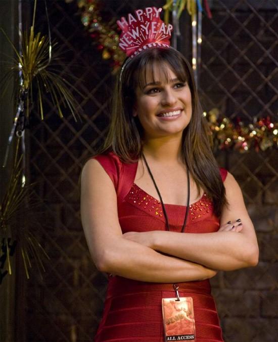 Una Sorridente Lea Michele In Una Bella Immagine Di New Year S Eve 211795