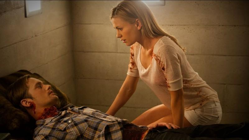 Alexander Skarsgard Ed Anna Paquin Nell Episodio Cold Grey Light Of Dawn Di True Blood 212032