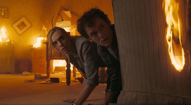 Anton Yelchin E Toni Collette Nel Film Fright Night 211955