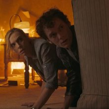 Anton Yelchin e Toni Collette nel film Fright Night