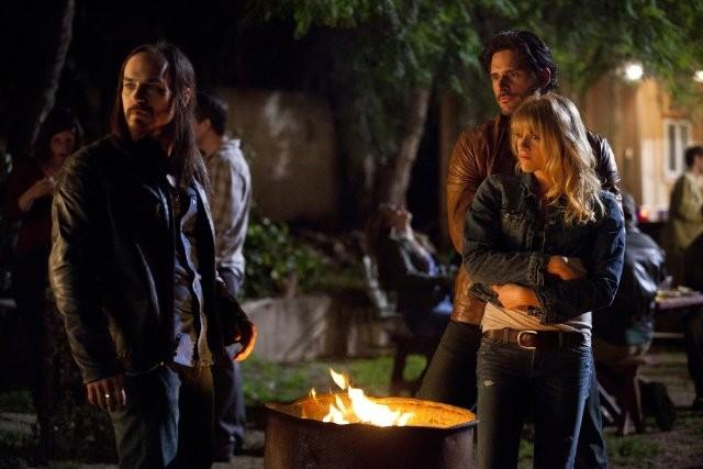 Daniel Buran Joe Manganiello E Brit Morgan Nell Episodio Spellbound Di True Blood 212014