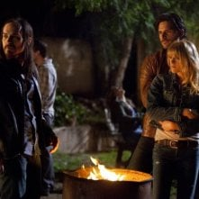 Daniel Buran, Joe Manganiello e Brit Morgan nell'episodio Spellbound di True Blood
