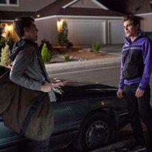 Dave Franco con Christopher Mintz-Plasse nell'horror Fright Night - il vampiro della porta accanto