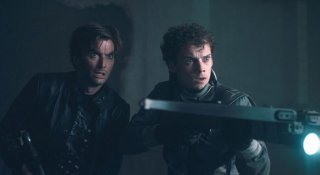 David Tennant con Anton Yelchin in Fright Night
