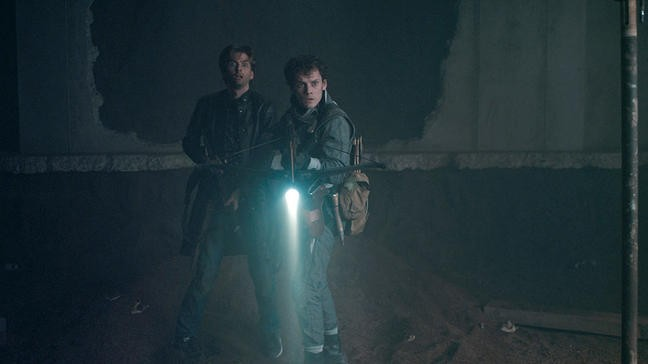 David Tennant Con Anton Yelchin In Fright Night Il Vampiro Della Porta Accanto 211958