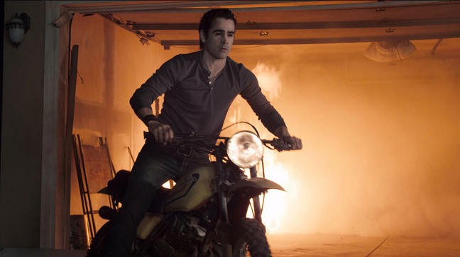 Fright Night Il Vampiro Colin Farrell In Sella Ad Una Moto 211954