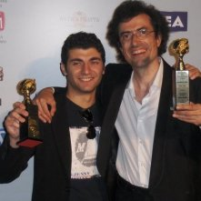 John Real e Marco Werba ai Globi d'oro 2011