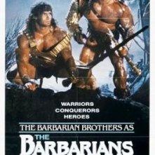 La locandina di The Barbarians